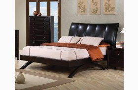 Phoenix Queen Upholstered Platform Bed - 300356
