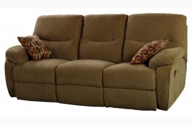 Manchester Cocoa Power Reclining Sofa