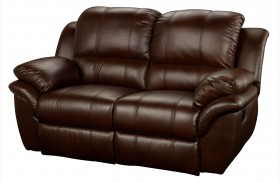Cabo Brown Dual Power Reclining Loveseat