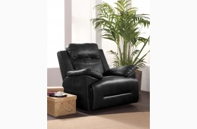 Cortez Black Power Glider Recliner