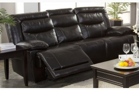 Torino Premier Black Power Reclining Sofa