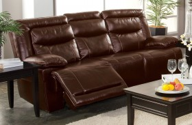 Torino Brown Power Reclining Sofa