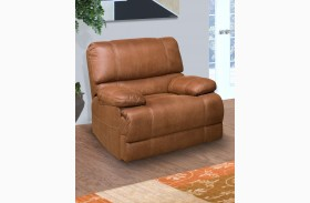 Montana Canyon Brown Glider Recliner