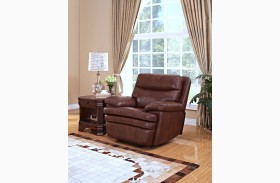 Hastings Summit Brown Glider Recliner
