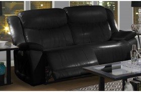 Soho Mesa Black Power Reclining Sofa