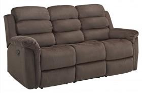 Charlotte Chocolate Dual Reclining Sofa