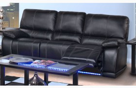 Electra Mesa Black Power Reclining Sofa