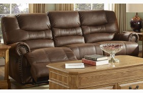Laredo Cordova Mocha Power Reclining Sofa