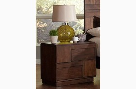Gallagher Golden Brown Nightstand