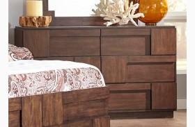 Gallagher Golden Brown Dresser