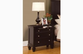 Sandy Beach Cappuccino Nightstand