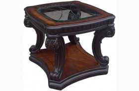 Grand Estates Cinnamon End Table