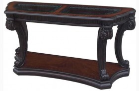 Grand Estates Cinnamon Sofa Table