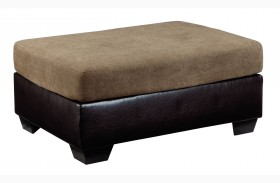 Armant Mocha Oversized Accent Ottoman