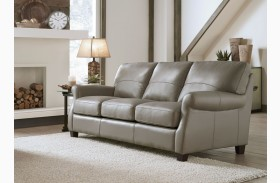 Carlyle Adobe Leather Sofa