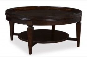 Classic Round Cocktail Table
