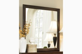Tatiana Warm Brown Mirror