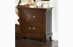 Tatiana Warm Brown Nightstand