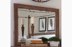Madeleine Smoky Acacia Mirror by Donny Osmond