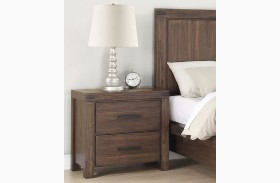 Lancashire Wire Brushed Cinnamon Nightstand