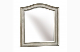 Bling Game Metallic Platinum Vanity Mirror