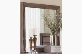 Kauffman Washed Taupe Mirror
