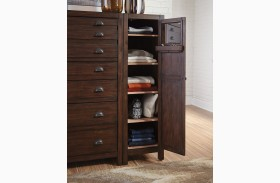 Lanchester Cocoa Right Side Wardrobe Cabinet