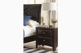 Rossville Medium Cappuccino Nightstand