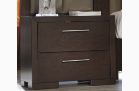 Berkshire Bitter Chocolate Nightstand