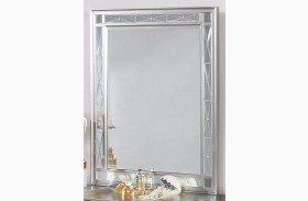 Leighton Metallic Mercury Vanity Mirror