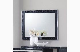 Alessandro Glossy Black Mirror