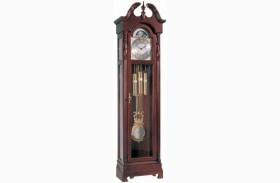 Morgantown Glen Arbor Cherry Curio Clock