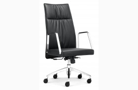 Dean Black High Back Office Chair