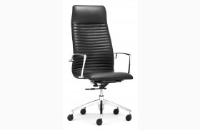 Lion Black High Back Office Chair