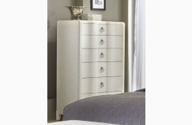 Cosmopolitan Parchment Drawer Chest