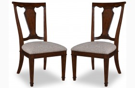 Egerton Wood Back Side Chair Set of 2