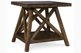 Echo Park Huston's Arroyo Rectangular End Table