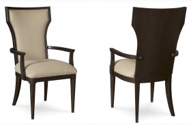 Greenpoint Upholstered Back Arm Chair Set of 2
