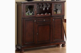 Cumberland Rich Medium Brown Server