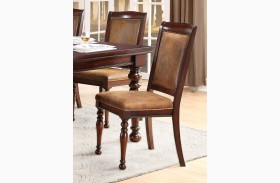 Cumberland Medium Brown Side Chair Set of 2