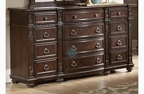 Hillcrest Manor Dresser with Marble Inset