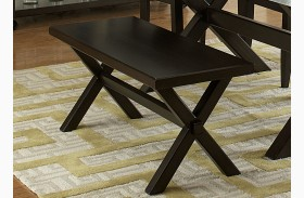 Keaton II Charcoal Bench