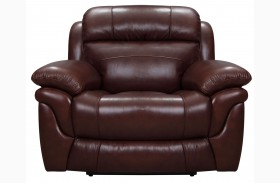 Edinburgh Brown Power Recliner