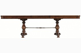 Arrondissement Heirloom Cherry Famille Pedestal Table