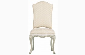 Arrondissement Vintage Neutral Volute Side Chair