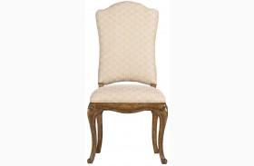 Arrondissement Sunlight Anigre Volute Side Chair