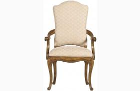 Arrondissement Sunlight Anigre Volute Arm Chair