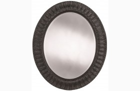 Arrondissement Rustic Charcoal Jardin Mirror