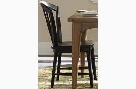 Candler Black Windsor Side Chair Set of 2