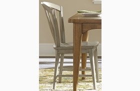 Candler Gray Windsor Side Chair Set of 2